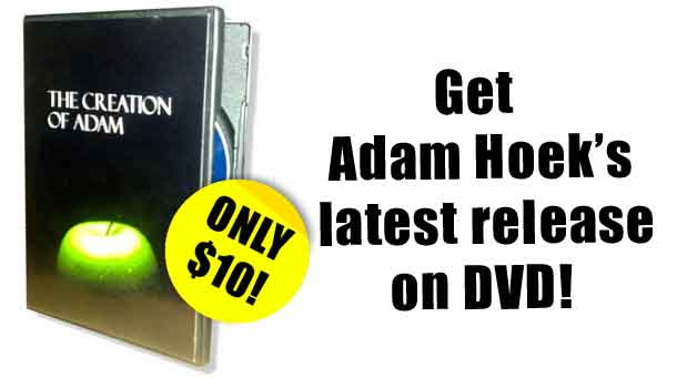 Get Adam's latest release on DVD!  only $10 AUD